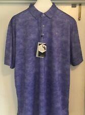 L Callaway Liberty Golf Apparel Print Polo Shirt Retail $70