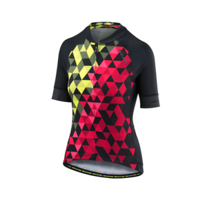 Altura Womans Peloton Short Sleeve MOSAIC Cycling Jersey Size 16 - Reduced