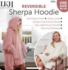 Fleece Hoodie Blanket Oversized Ultra Soft Sherpa Big Hoody Sweatshirt Hooded*