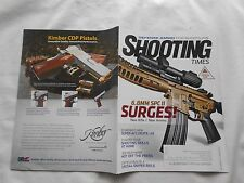 SHOOTING TIMES Magazine-DEC/JAN,2014-6.8MM SPCll SURGES-NEW RIFLE // NEW AMMO