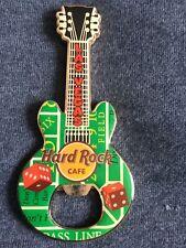 Hard Rock Cafe Las Vegas Guitar Bottle Opener Magnet