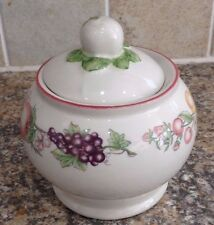 BOOTS ORCHARD LIDDED SUGAR BOWL