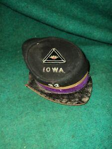 ORIGINAL CIVIL WAR IOWA 23 rd KEPI HAT CAP