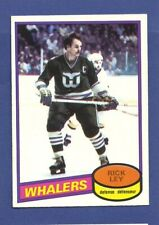 1980-81 OPC Rick Ley #198 (NM-MT) Beautiful Old Hockey Card * P4711
