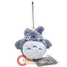 "My Neighbor Gray Totoro Chibi Plush Doll 4"" Cozy Plush Key Chain Phone Charm"