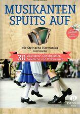 Steirische Harmonika Noten : Musikanten spuits auf - 30 Volkstänze etc.