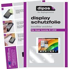 2x dipos Acer Iconia Tab A1-830 Pellicola Prottetiva Transparente Proteggi