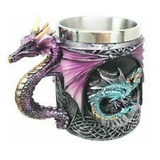 The Conception Of Blue Fire Purple Dragon Beer Stein Tankard Coffee Cup Mug 12oz