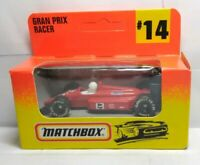 MATCHBOX 1996 DIECAST #14 - GRAND PRIX RACER - FACTORY SEALED BOX