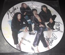 UNION Old Man Wise LP autographed picture disc - KISS Motley Crue Corabi Kulick