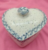 Vintage Country Ceramic Heart Shaped Dish