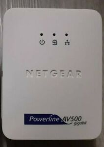 Netgear Powerline AV500 WiFi Range Extender Adapter XAV5001 AV 500 Gigabit