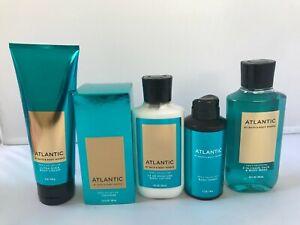 Bath and Body works Mens AtlanticYou Choose Cologne Cream Sparay Lotion ShoweGel