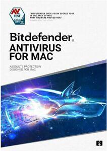 BITDEFENDER ANTIVIRUS FOR MAC 2021 - 1 DEVICE - INCLUDES 200 MB VPN - DOWNLOAD
