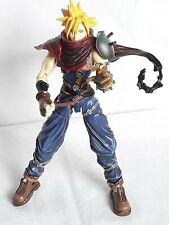 """Final Fantasy Cloud Strife 7"""" Action Figure Disney Red Cape Claw Square Enix"""