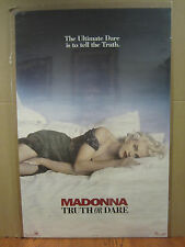 vintage Madonna Truth or Dare Original boy toy 1991 Poster 4500