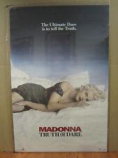 vintage Madonna Truth or Dare Original boy toy 1991 Poster 4500