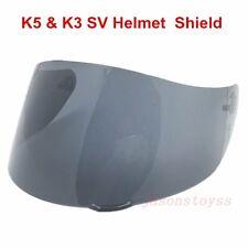 AGV K5 K3 SV Motorcycle Helmet Shield GT2 Anti-Scratch Visor Color Black Lens