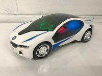 BMW I8 STYLE BUMP & GO ACTION CAR SOUND & LED LIGHTS XMAS GIFT TOYS