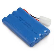 Rechargeable 9.6V 1400mAh RC Ni-Cd Tamiya Plug AA High Capacity Toy Car Battery