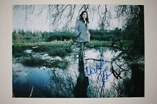Michelle Forbes signed 20x30cm The Killing  Foto Autogramm / Autograph In Person