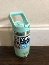 YETI Rambler Jr. 12 oz. Kids Bottle Seafoam New