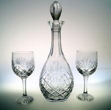 Set 6 Weingläser + Karaffe aus Kristall Bleikristall  Römer Schnapsglas Kristall