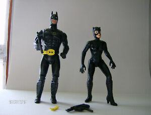 ToyBiz DC COMICS SUPER-HEROES Spain Batman Kenner Catwoman Batman Returns lot