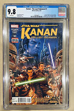 KANAN THE LAST PADAWAN #1 CGC 9.8 🔥 1st EZRA BRIDGER, 1st SABINE WREN Star Wars