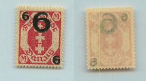 Danzig 1922 SC 96 Mi 106 b mint. g964