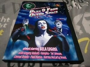 Plan 9 From Outer Space [DVD] incl 2hr documentary. Snap, snapper, keep case R0