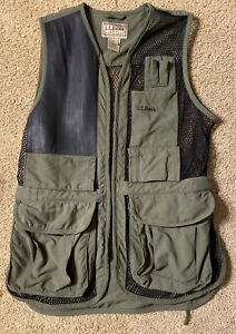 L L Bean Trap Skeet Shooting Vest Med Green