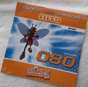SF080 Sunfly Hits Karaoke CD+G 15 trks,see Descript trks/art, NEW, Free Post UK