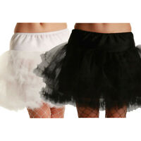 3 Layer Ruffle Petticoat Tutu Underskirt Womens Fancy Dress Hen Night Party