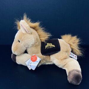 Aurora Flopsies Plush Tan Horse Dixie Stampede Pigeon Forge TN with Sound NWT