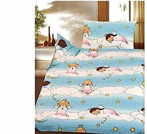 Children Bedding Christmas Angel Stars Sky 100 X135 CM Cotton Cretonne