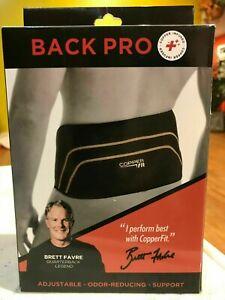 "Copper Fit Back Pro Back / waist Support Brace Large/X Large - 39""-50"""