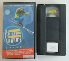 THE BLIZZARD OF AAHHH'S: A TRUE STORY VHS TAPE 1988 EXTREME SKIING STUNTS SKI