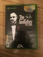 THE GODFATHER THE GAME - XBOX - NO MANUAL - FREE S/H - (LL)