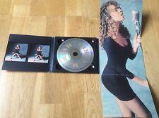 Mariah Carey - Mariah Carey - 1990 USA Digipak Promo Picture Sleeve Ultra Rare.