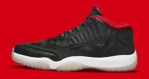 Nike Air Jordan 11 Retro Low IE SZ 11.5 Black True Red Multi Color 919712-023