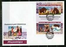 MOZAMBIQUE  2019   PRE- HISTORIC MAN SHEET FIRST  DAY COVER