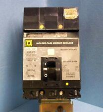 Square D Fa32100 Circuit Breaker 3 pole 100 amp 240 volt I-Line w/ Lock Shackle