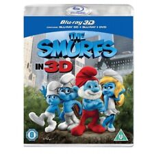 The Smurfs In 3D ( 2D + 3D Blu-Ray )