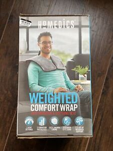 Homedics Weighted Comfort Wrap with Vibration & Heat