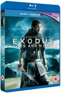 Exodus - Gods And Kings Blu-ray or DVD - Brand New - Fast and Free Delivery