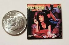 "Dollhouse Miniature Record Album 1""  1/12 scale Barbie  Pulp Fiction Movie"