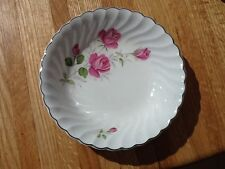 Johnson Brothers JB 602 Snow white regency with pink roses salad bowl 7 1/4