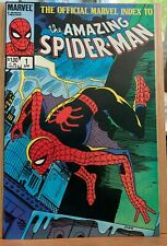 The Official Marvel Index To...The Amazing Spiderman #1.  April 1985.