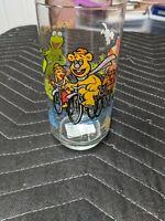 Vintage The Great Muppet Caper Muppets McDonalds Glass 1981 Henson Kermit Frog